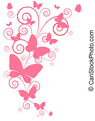 butterflies, дизайн