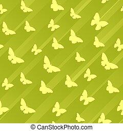 butterflies., abstratos, seamless, fundo