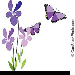 butterflies and flowers 10.