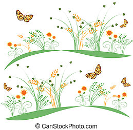 butterflies and flowers 6