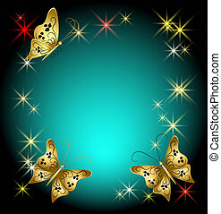 Butterflies and stars