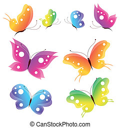 butterflies design vector - Eps 10 vector