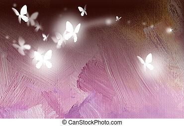 Butterflies Free in Flight