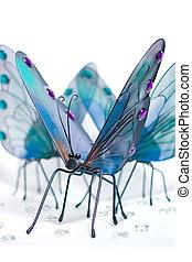Butterflies Gathering Around