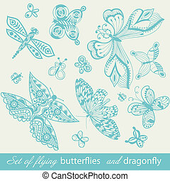 Butterfly Background,