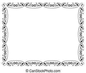 butterfly border frame