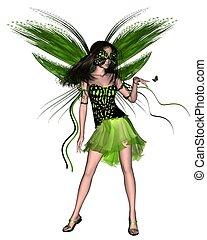 Butterfly Fairy - Green