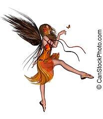 Butterfly Fairy - Orange