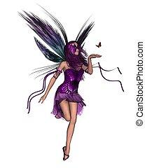 Butterfly Fairy - Purple