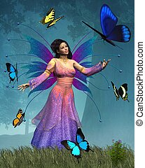 Butterfly Fairy Queen
