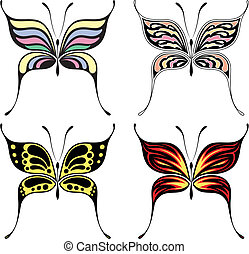 butterfly fashion style