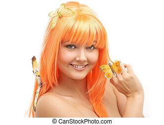 butterfly girl #2