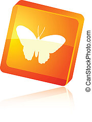 Butterfly icon.