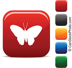 Butterfly icons.