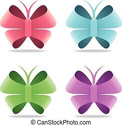 Butterfly Logo element
