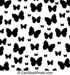 butterfly pattern background icon