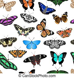 Butterfly Repeating Background