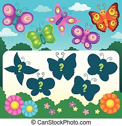 Butterfly riddle theme image 3
