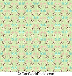 Butterfly seamless pattern for your design