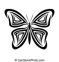 butterfly tattoo animal design