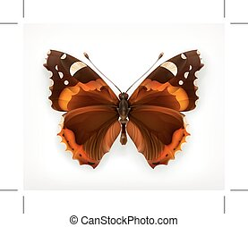 Butterfly, vector icon