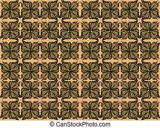 Butterfly Wall Paper Pattern #2