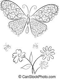 butterfly3, encaje