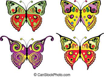 butterflys, satz