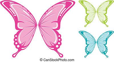 butterlfy wings