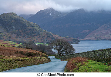 buttermere, route