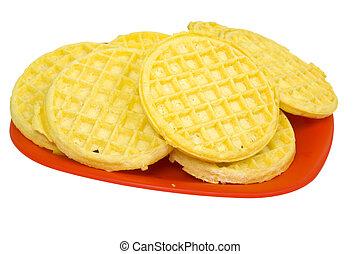 Buttermilk Waffles on Plate