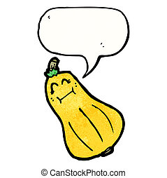 butternut squash cartoon character