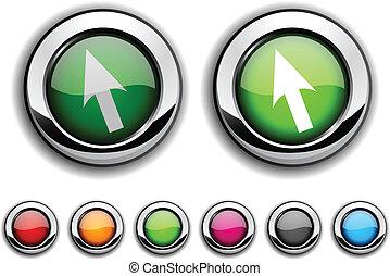button., カーソル