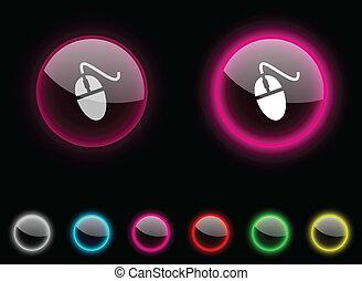 button., 老鼠