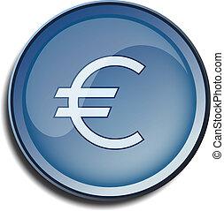 button 2d euro