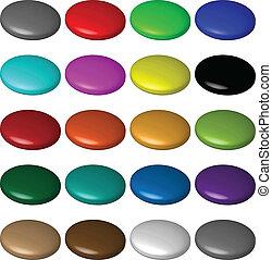 button 3d