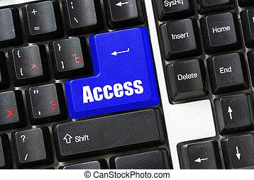 button access