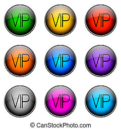 Button Color VIP - Colorful buttons with different topics....
