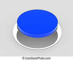 button concept icon . 3d rendered illustration