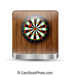 Button, darts