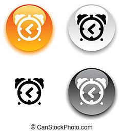 button., despertador