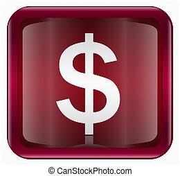 button dollar icon