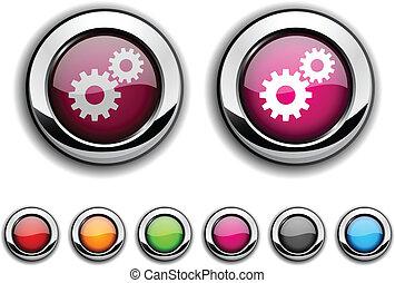 button., einstellungen
