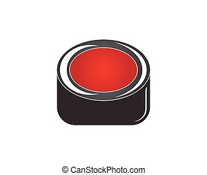 Button icon and symbol template