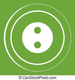 Button icon green
