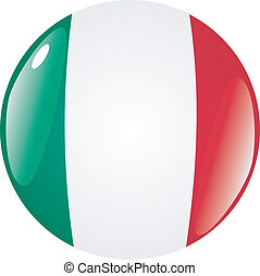 button in colors of Mexico
