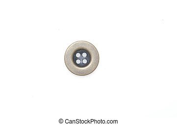 Button isolated on white background