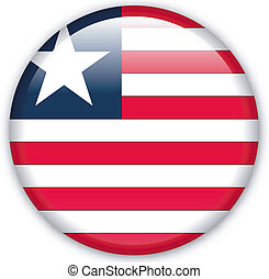 Button Liberia - Button with map from Liberia