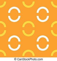 Button lock jewelry seamless pattern