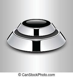 Button metallic